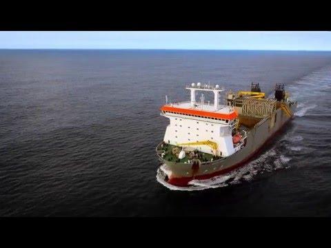 Boskalis: capabilities Fallpipe vessel