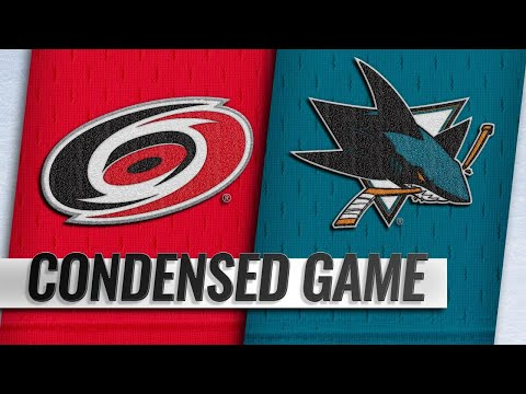 12/05/18 Condensed Game: Hurricanes @ Sharks