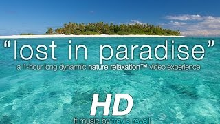 """Lost in Paradise: Hidden Fiji Islands"" Nature Relaxation Experience w/ Music 1080p HD"