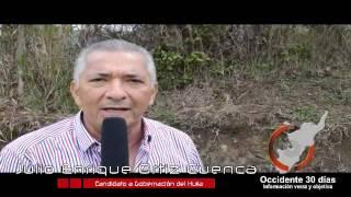 Julio Enrique Ortiz Cuenca, respaldo a candidatura de Adriana Marcela Valencia Cardona