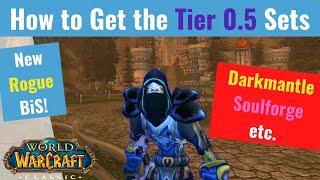 Full Tier 0.5 Guide!! (All Classes) (New BÏS - Darkmantle & More) - WoW Classic