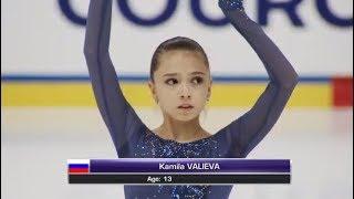 Непобедимая юниорка Талант Камилы Валиевой виден всем Она прекрасная фигуристка и настоящий герой