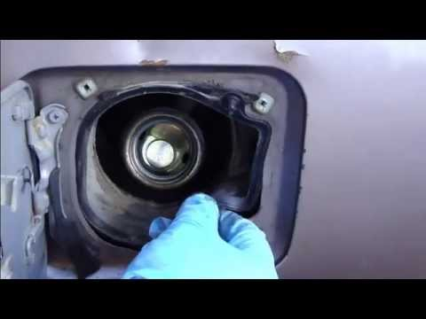 How to fix fuel tank door opening system Toyota Camry