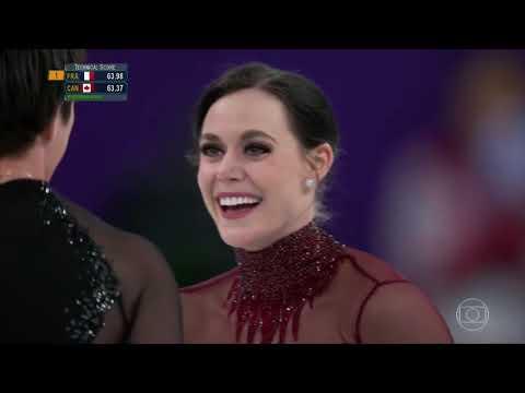 Jogos Olímpicos de Inverno Pyeong Chang 2018 - Patinação no Gelo- Tessa Virtue & Scott Moir