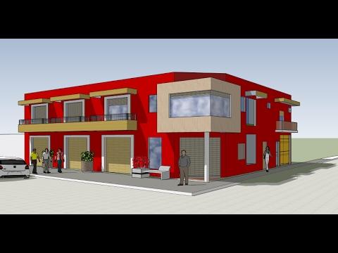 Plano locales comerciales y departamentos terreno en for Creador de planos sencillos para viviendas y locales