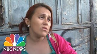 Honduran Mom-Of-Eight Joined Migrant Caravan To U.S. To 'Rescue' Her Daughter From Drugs | NBC News