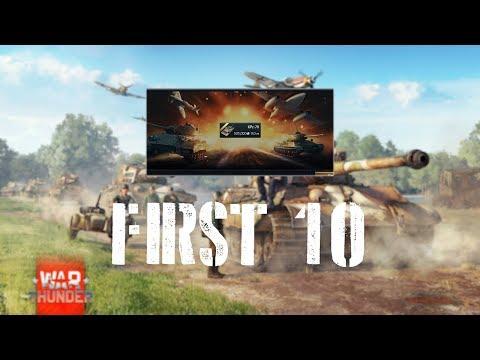 War Thunder First 10 - KPz-70