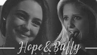 ► buffy + hope | agape (crossover)