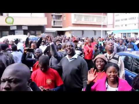 Tsvangirai Back
