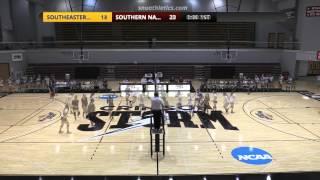Volleyball vs. Southeastern Oklahoma State
