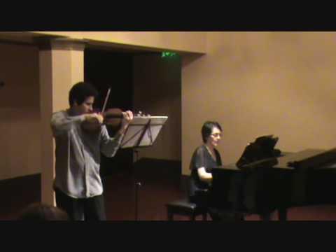Schumann sonata en la menor i mov angel j mart nez haza y - Maria y bruno ...