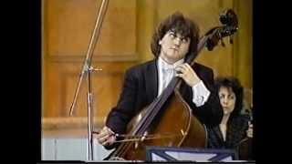 Ovidiu Badila-double bass- The Variations on a Rococo Theme by P.Tchaikovsky