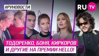 Тодоренко, Боня, Киркоров и другие на премии Hello!