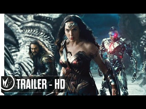 Justice League Official Trailer #1 (2017) Ben Affleck, Henry Cavill -- Regal Cinemas [HD]