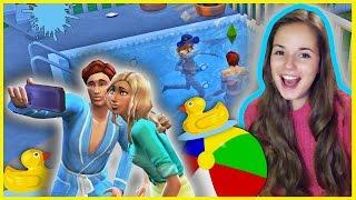 Вечеринка у Бассейна :D !!! The Sims 4