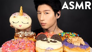 ASMR CALIFORNIA DONUTS & COFFEE (Whispering) SOFT + CRUNCHY EATING SOUNDS | Zach Choi ASMR