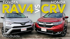 2017 Toyota RAV4 vs Honda CR-V Comparison