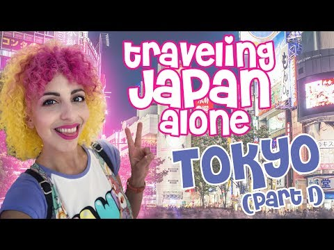 Japan Solo Travel Diary - Tokyo (Part 1)