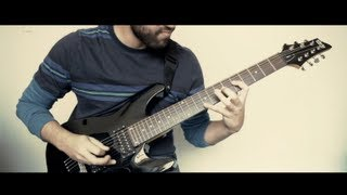 August Burns Red - Fault Line | Guitar cover (Rescue & Restore) HD
