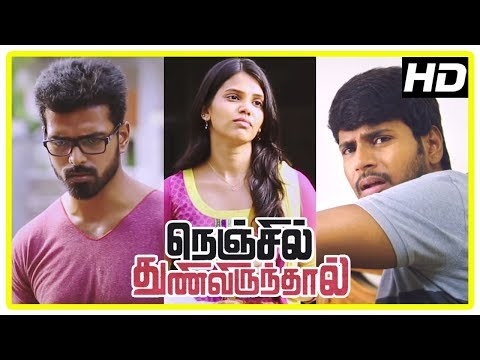 Nenjil Thunivirunthal Scenes | Sundeep Apologizes To Siva | Shathiga In Love With Vikranth | Soori