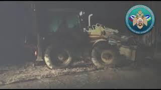 Появилось видео с места аварии на предприятии в Башкирии