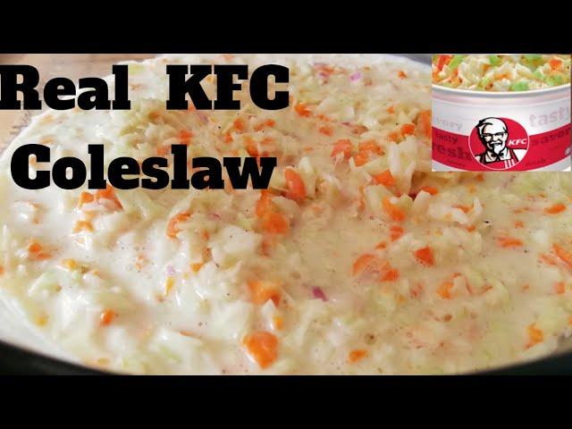 Perfect Kfc Coleslaw Recipe Make Your Own Kfc Coleslaw Youtube