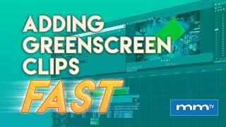 MMTV: MAGIX VEGAS Pro - Add Green Screen Clips Fast   Eric Burgess