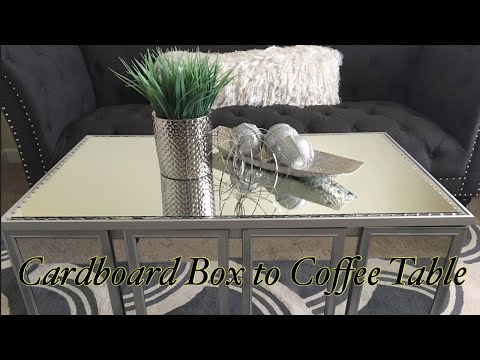 Glam Mirror Coffee Table