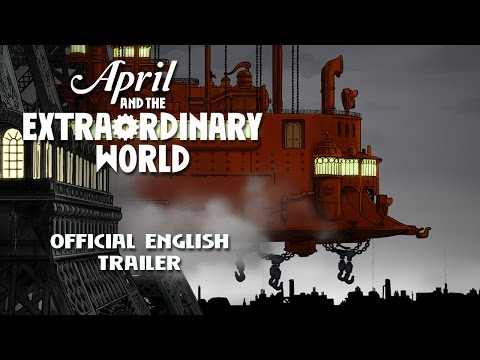 April And The Extraordinary World Us English Trailer Youtube