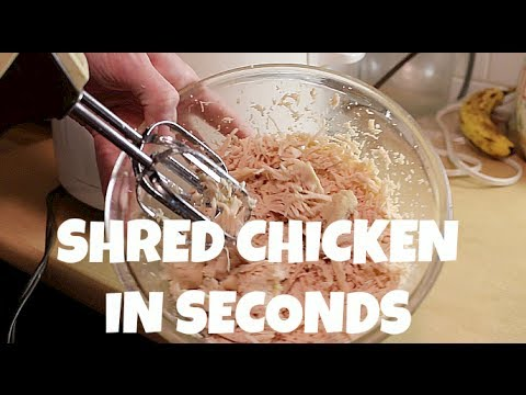 Download Shred Chicken in Seconds Pictures
