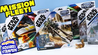 Star Wars Mission Fleet Figures and Ships Review Hasbro