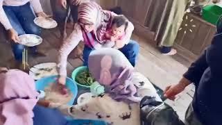 Halal bihalal keluarga Amang Adiwikarta di Villa Muara ciawi Garut Selatan