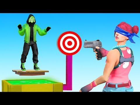 SHOOT The Target To KILL FRIEND! (Fortnite)