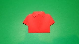 How To Make An Origami T-shirt