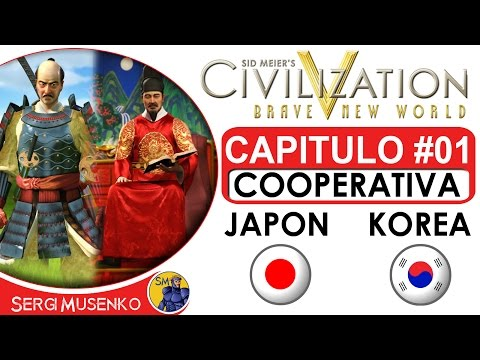 Civilization V gameplay Español Cooperativo Capitulo 1
