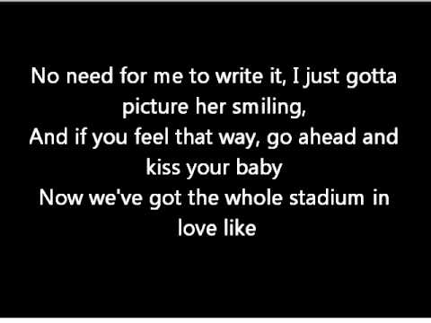 Best Love Song - T-Pain ft Chris Brown Lyrics
