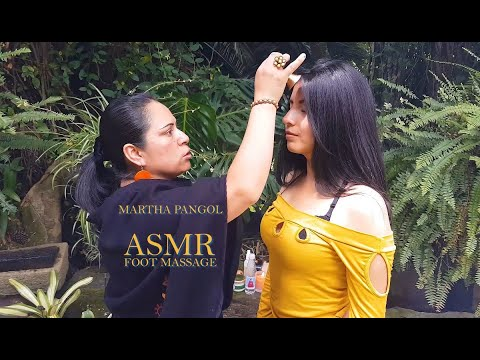 MARTHA ♥ PANGOL, ASMR FOOT MASSAGE, SPIRITUAL CLEANSING, CUENCA, Pembersihan Spirit, Indian Barber