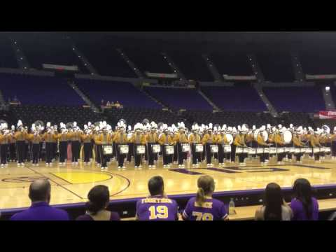 *HD* Callin' Baton Rouge- LSU Tiger Band FIRST Performance