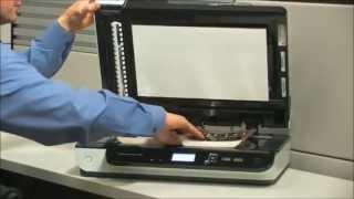 Scanner de mesa HP Scanjet Enterprise 7500