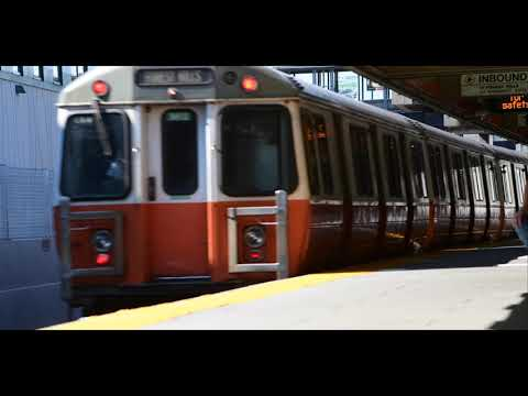 MBTA 4K | Wellington Station Orange Line Cinematic
