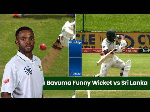 Temba Bavuma Funny Wicket vs Sri Lanka