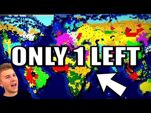 All 44 Nations Battle For Earth Until 1 Left! (Civilization Battle Royale)