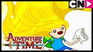 Время приключений Состричь женский локон Cartoon Network