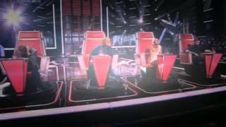 ✔Элла Хрусталeва  ♫Мне нравится♫ шоу Голос 4 Слепое прослушивание 04.09.2015