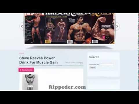 Arnold Schwarzenegger Level 1 Exercise Program | Rippeder