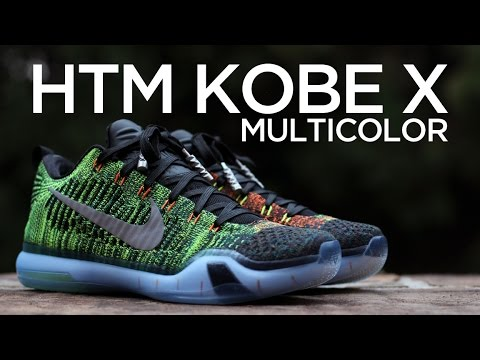 Shop Discount Nike Kobe 10 Elite Low HTM Multicolor