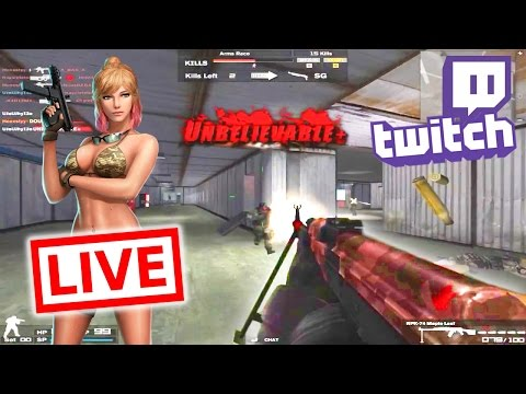 🔴 Combat Arms - PRE NEW YEARS LIVESTREAM VOD (30/12/2016)