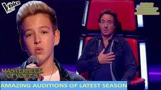 AMAZING AUDITIONS OF LATEST SEASON IN THE VOICE KIDS 2017