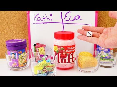 2. Candy Challenge mit Kathi & Eva | Tolles Spiel mit 6 Snacks | Lecker bis eklig | Jelly Belly