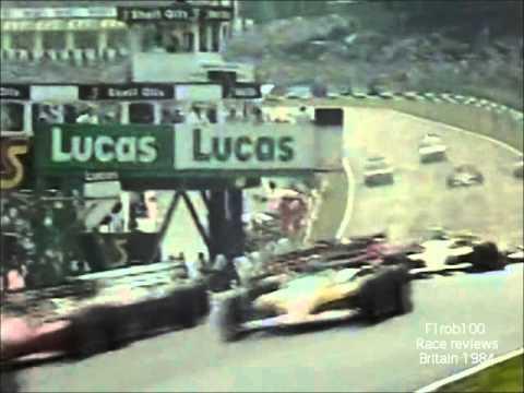 Classic Formula 1 British gp 1984